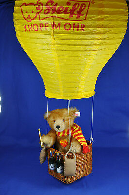 Steiff Ballonfahrer / Hot-Air-Balloon Teddy 670619, KFS, 2001, limit., OVP / box