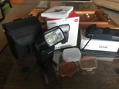 Canon Speedlite 600EX II-RT + CP-E4N Battery Pack!!! Great bundle!