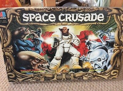 MB Games Space Crusade 1990. Good Condition. 99% Complete?