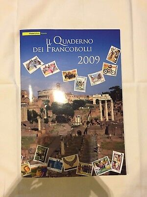 Italia 2009 Il Quaderno Dei Francobolli New - All Italy Stamps Year 2009 New
