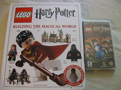 Harry Potter Lego Psp Game + Building The Magical World Book