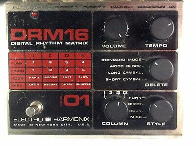 Electro Harmonix DRM Drum Machine Analog