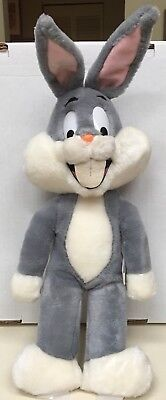 Bugs Bunny Warner Bros Characters Mighty Star 1971 Vintage Pre Owned Plush Korea