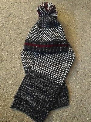 Baby Boys Hat & Scarf Set 1-2 years