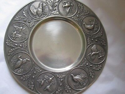 Pewter Plate  Country style