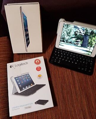 Ipad Mini Wi-Fi + 4G + funda/teclado logitech Ultrathin