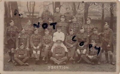 WW1 soldier group Cpl J C Dove Cpl Cook Cookery School Portslade