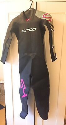 Orca Wetsuit S4 Womens Medium Triathlon Open Water Swimming