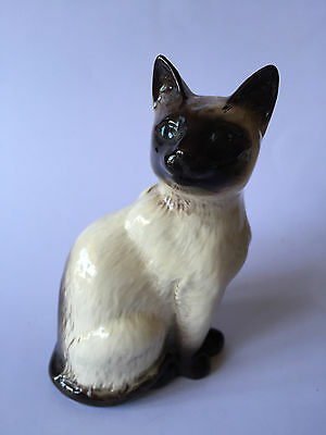 chat siamois miniature en porcelaine anglaise Beswick, collection, animal