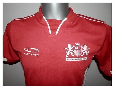 Rare SLO 1901 FC Stade-Lausanne-Ouchy Home FOOTBALL SHIRT SOCCER Jersey XS / 164