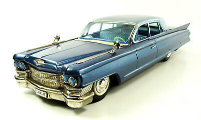 "1961 Cadillac 17"" 2 Door Sedan Japanese Tin Car by Bandai NR"