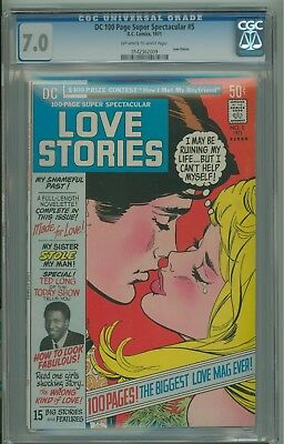 DC 100-Page Super Spectacular DC-5 Love Stories CGC 7.0 Rare Comic