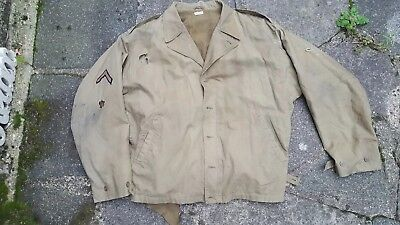 ANGELS COSTUMIERS  original used film prop M41 jacket