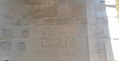 beauty and the beast genuine film set construction blueprint film prop rare