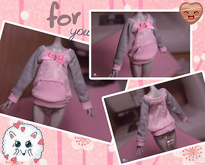 Handmade sweatshirts for dolls Monster High, Ever After High and etc.