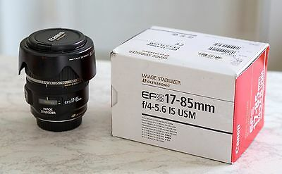 Canon EF-S 17-85 f4-5.6 IS USM lens