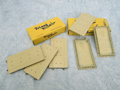 Tri-Ang Minic Ships - M836 Straight Quay Sections (6) - Boxed