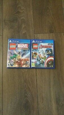 Lego Marvel Super Heroes / Marvel Avengers Ps4 .excellent Condition