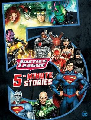 5-Minute Justice League Stories Hardcover Book Free Shipping!