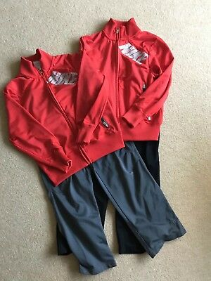 Two Nike Tracksuits Age 8-10