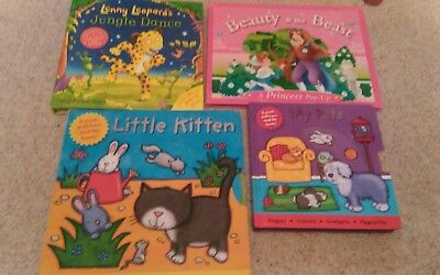 Pop Up/Pull Out Children Books