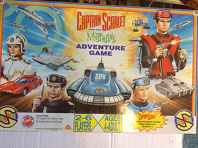 Captain Scarlet And The Mysterons Adventure Game By Peter Pan Playthings 1993