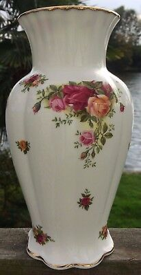 "Royal Albert Old Country Roses 9"" Vase"