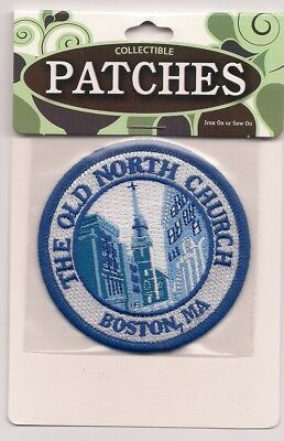 The Old North Church, Boston Massachusetts Souvenir Patch