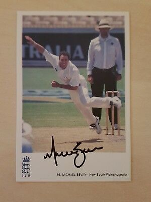 Michael Bevan signed Classic Card No:86