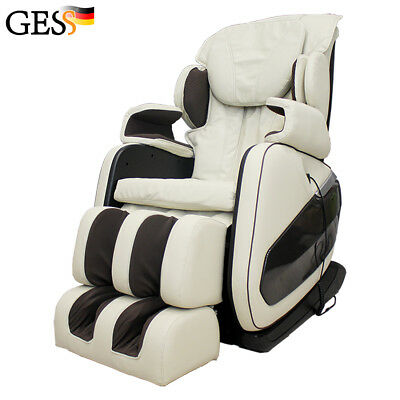 Electric massage chair for home relax body BONN (beige) GESS