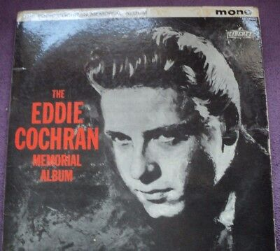 A Very Collectable Eddie Cochran L.p.,the Eddie Cochran Memorial Album,liberty.