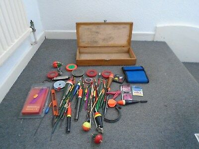 Job lot of old fishing tackle floats etc.