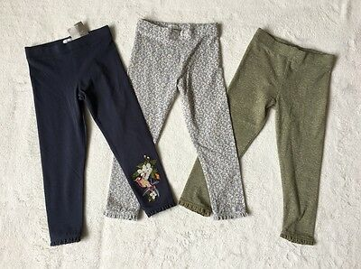 ***BNWT Next baby girl Hummingbird leggings 3 pack set 12-18 months***