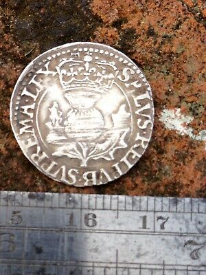 English Scottish Hammered silver coin