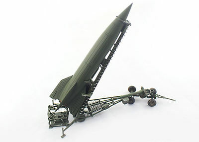 Pma By Blitz 72 1/72 P0322 Wwii German V-2 Rocket With Meilerwagen And Stand