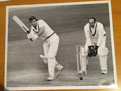 1970s Somerset v warwickshire county match a Ken Kelly Press Photograph