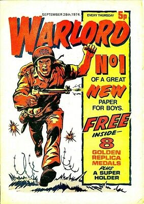 Uk Comics Warlord Complete Run Of Boys Adventure Comics On Dvd 600+ Comics