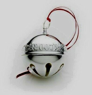 2007 Wallace  ~ Annual Silver Plate Sleigh Bell 37th Edition NIB