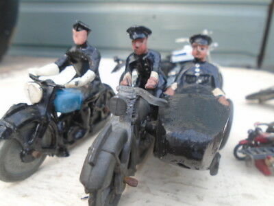 Vintage Diecast / Lead Motorcycles,hillco Britains Etc Job Lot
