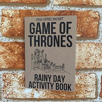 Game Of Thrones Rainy Day Activity Book - Colouring Book