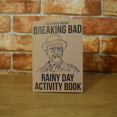 Breaking Bad Rainy Day Activity Book - Colouring Book