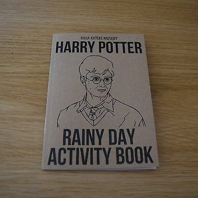 Harry Potter Rainy Day Activity Book - Colouring Book