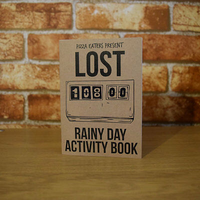 LOST Rainy Day Activity Book - Colouring Book