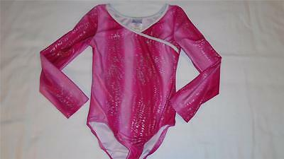 Girls Size 7/8 Danskin Now Leotard Dance Gymnastics VGUC