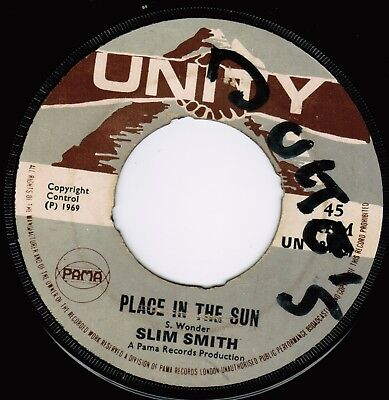Unity | Slim Smith - Place In The Sun | 1969