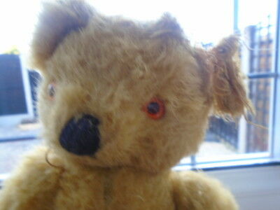 Vintage Chad Valley Bear,needs Love And Attention Puppy Chewed Him