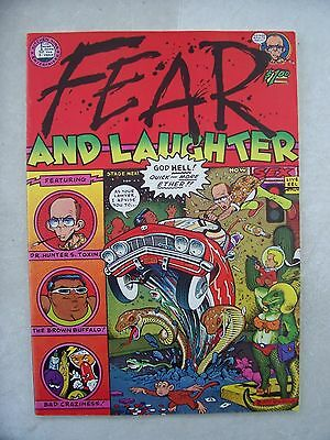 FEAR AND LAUGHTER VF/NM   underground comic         HIGH GRADE!