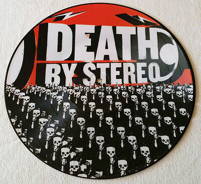 Death By Stereo - Into The Valley Of Death Picture LP 2003 Limited handn. 2500