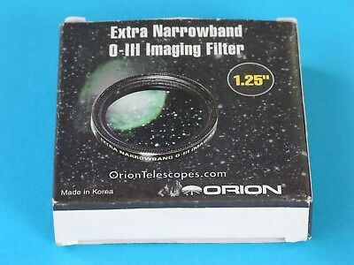 ORION #5578 Extra Narrowband Oxygen-III Imaging Filter 1.25'' (like new, mint)