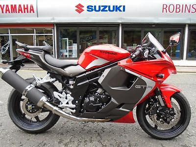 New Hyosung GT650R Low rate finance and PCP deals available